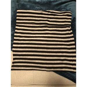 Forever 21 Striped Cotton Skirt